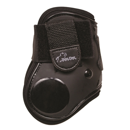 Nunn Finer Thermoplastic Fetlock Boots - Large - Black