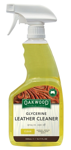 Oakwood Spray Glycerine Leather Cleaner