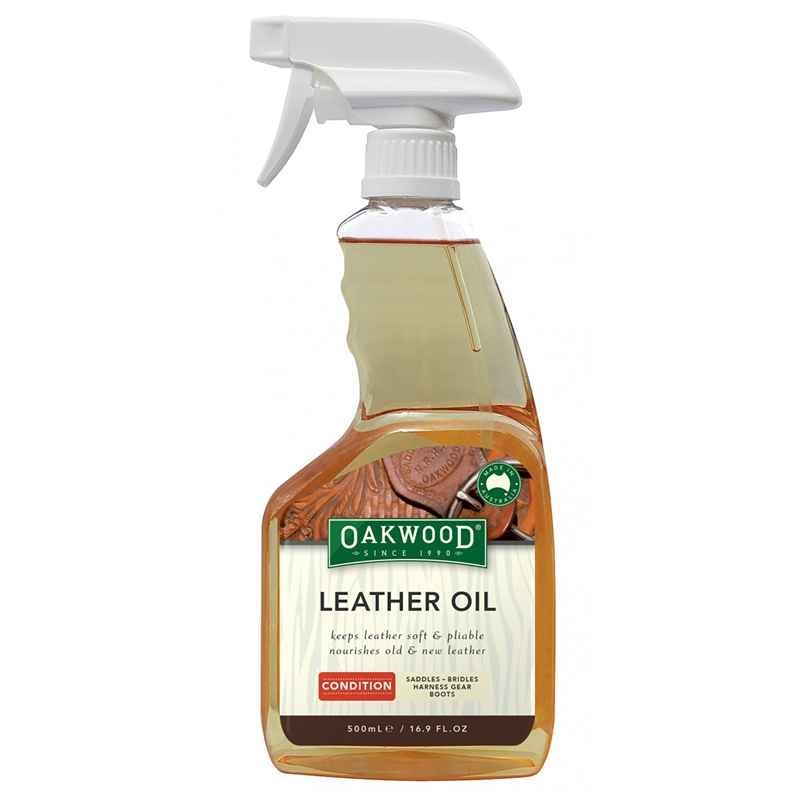 Oakwood Leather Oil at Nunn Finer