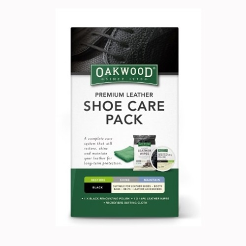 Oakwood Leather Shoe Care Pack