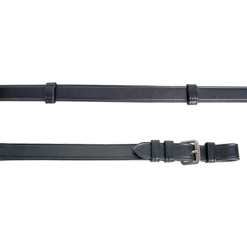 Grand Prix Dressage Reins with Leather Hand Stops