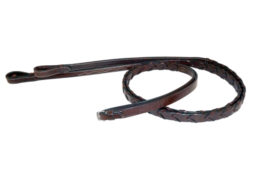 Nunn Finer Round Raised Fancy Stitched Laced Reins