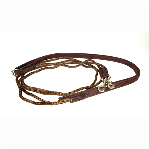 Nunn Finer Bella Donna Rope and Soft Grip Draw Rein