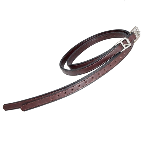 "Nunn Finer Nylon Center 3/4"" Stirrup Leathers"