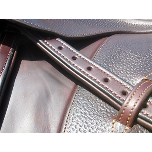 Padded Nylon Centered Stirrup Leathers