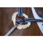 Nunn Finer Replacement Fleece Pads for Nunn Finer 5-Way Breastplate - Set of 3