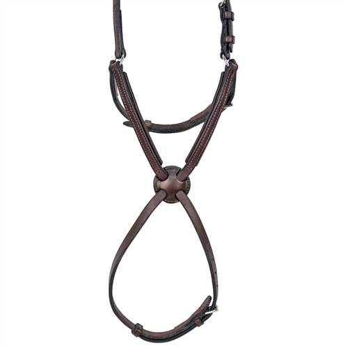 Nunn Finer Padded Figure 8 Noseband with Interchangeable Button Pieces