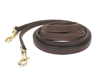 Nunn Finer Soft Grip Draw Reins with Snaps