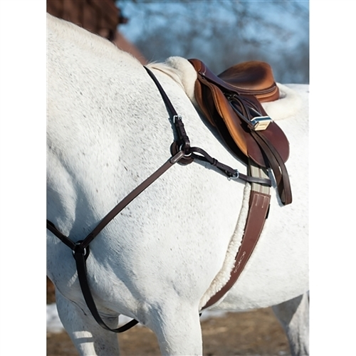 Details about  /Pectoral Elastic Martingale TEKNA Shaped Elastic Breastplate With Martingale