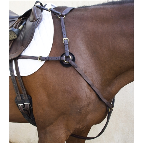 Nunn Finer Breastplates Martingales Italian Leather Stainless