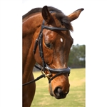 Nunn Finer Aformadi English Bridle in Havana or Black