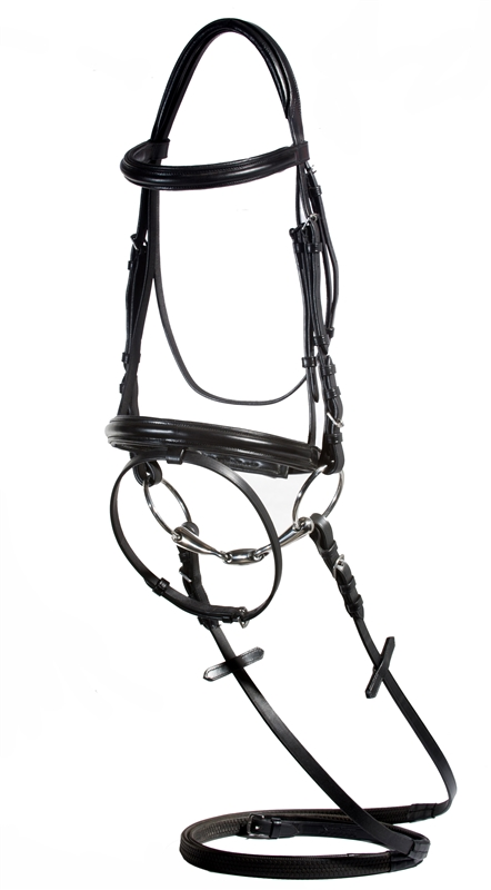 Nunn Finer Brentina English Dressage Bridle